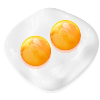 Fresh Eggs Double Yolk Eggs [tag]