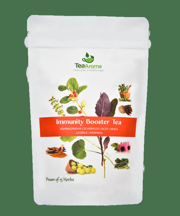 Green Tea Immunity Booster Tea [tag]