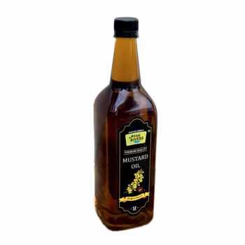 Home Made Mustard Oil (Black) (1 Litre)