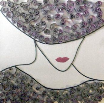 Lady In Not So Red | Toilet Rolls | Eryka Garbutt