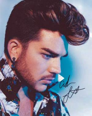 Adam Lambert In-person Autographed Photo