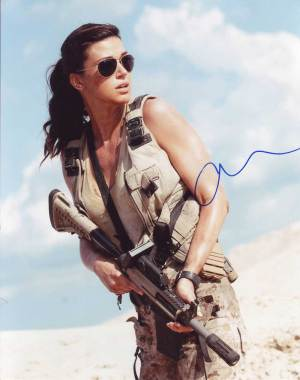 Adrianne Palicki in-person autographed photo
