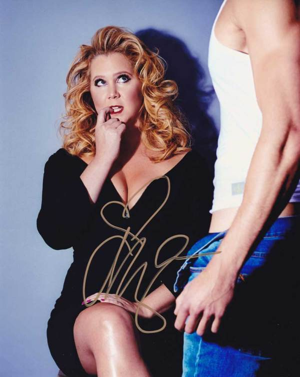 Amy Schumer In-person Autographed Photo