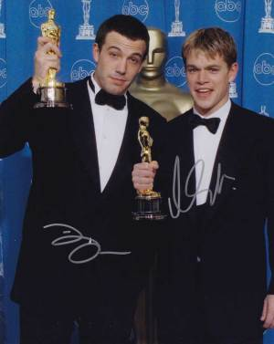 Ben Affleck and Matt Damon In-person autographed Photo