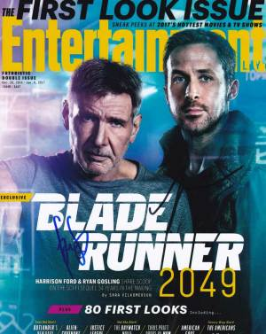 Blade Runner 2049 In-person autographed Cast Photo