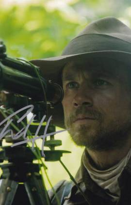 Charlie Hunnam in-person autographed photo