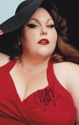 Chrissy Metz In-person Autographed Photo