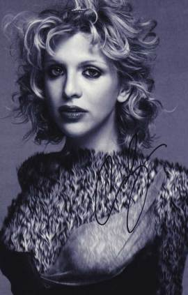 Courtney Love In-person Autographed Photo