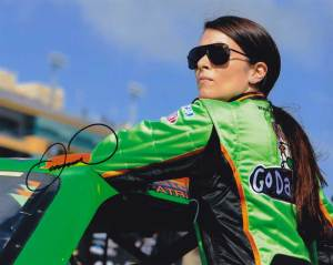 Danica Patrick In-person Autographed Photo