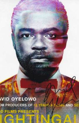 David Oyelowo in-person autographed photo