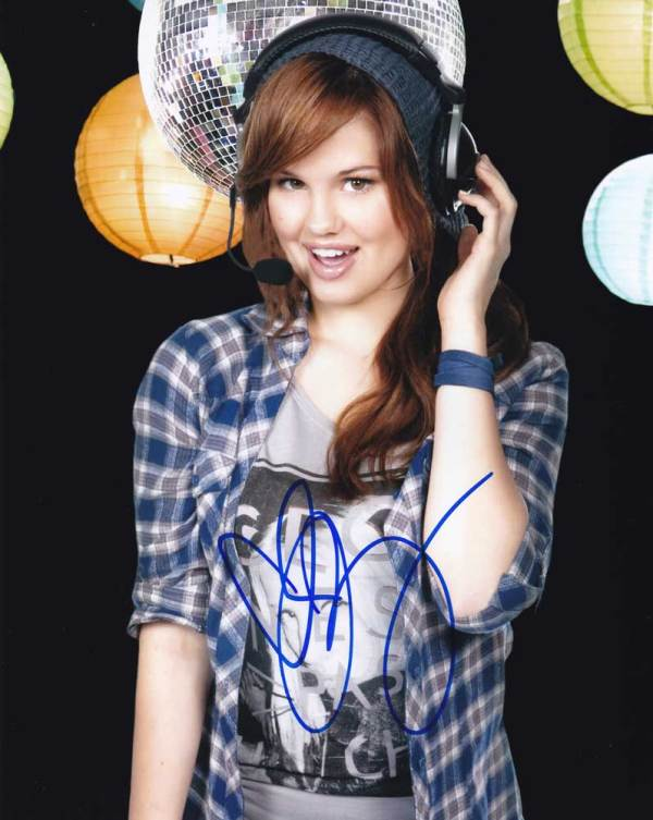 Debby Ryan In-person Autographed Photo