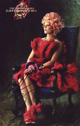 Elizabeth Banks in-person autographed photo Hunger Games