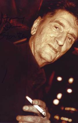 Harry Dean Stanton in-person autographed photo