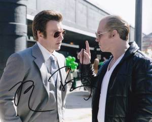 Black Mass In-person autographed Cast Photo