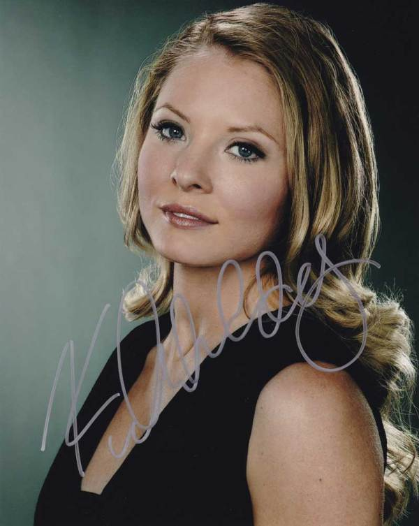 Kaitlin Doubleday in-person autographed photo