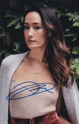 Maggie Q In-person Autographed Photo