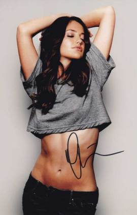Minka Kelly in-person autographed photo