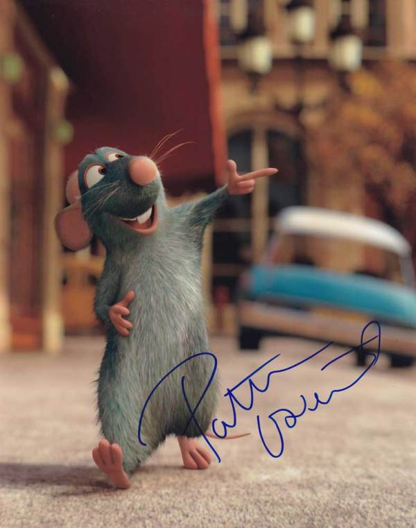 Patton Oswalt in-person autographed photo