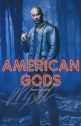 Ricky Whittle in-person autographed photo