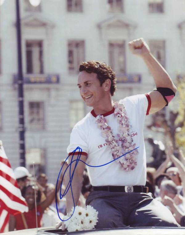 Sean Penn in-person Autographed photo
