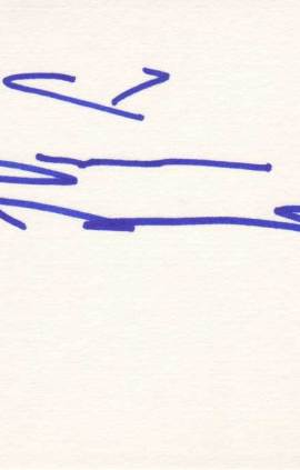 Shannen Doherty Autographed Index Card