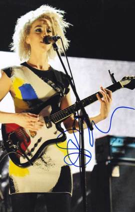 St. Vincent in-person autographed photo