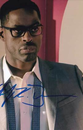 Sterling K. Brown in-person autographed photo