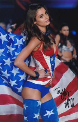 Taylor Marie Hill In-person Autographed Photo