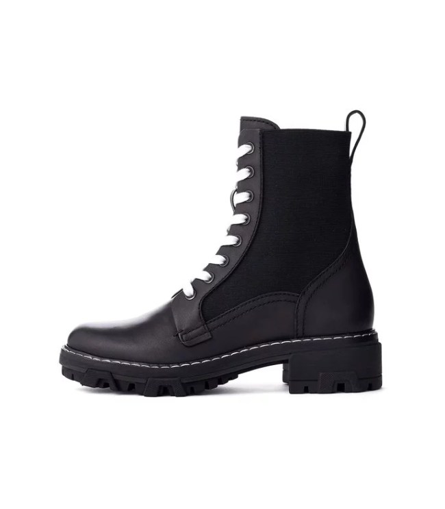 Shop BAZAAR - Shiloh Boot in Black