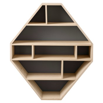 Octagon Bookcase: $299.00