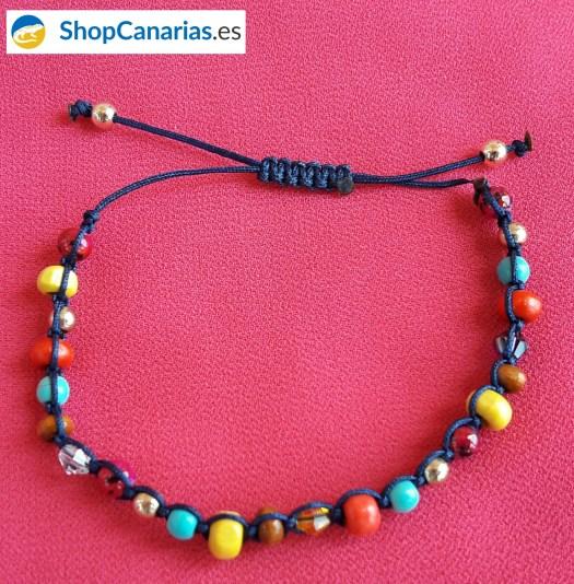 Mehrfarbige Makramee ShopCanarias.es Armband