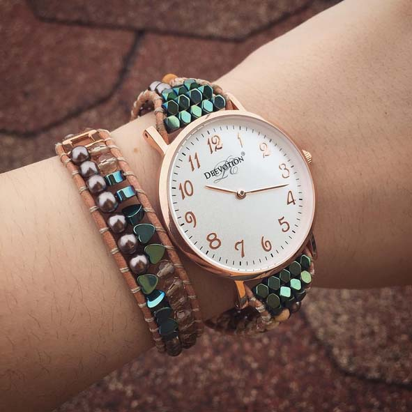 Safari - Double Wrap - Women´s Watch