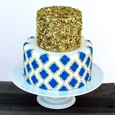 metallics cake