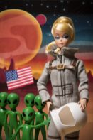 Dave mentions this piece in article - Astronaut Barbie