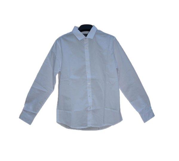 Camisa de manga longa (branco)