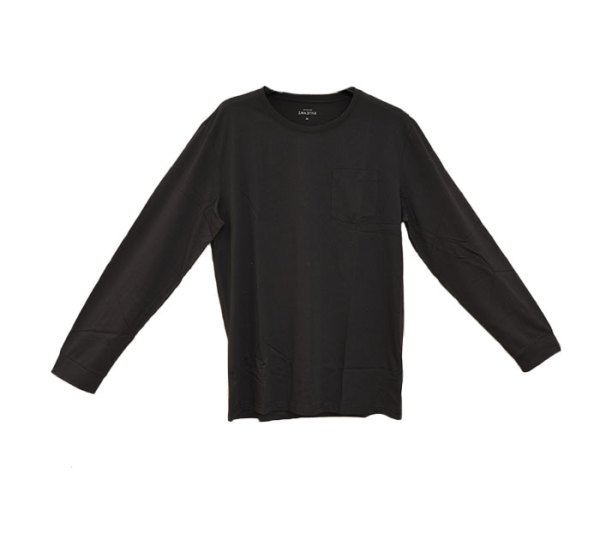 Camisa de manga longa (cinzento)