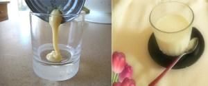 Cách tăng cân bằng sữa đặc pha loãng