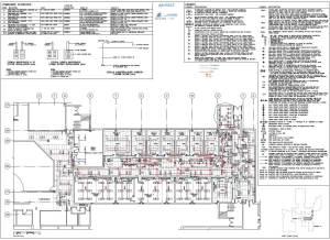 As Built electrical drawings