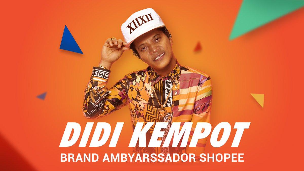 Didi Kempot Jadi Ikon Shopee Terbaru Sobat Ambyar Ikut Bangga