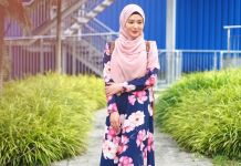 Gamis ala Influencer Ayana Moon