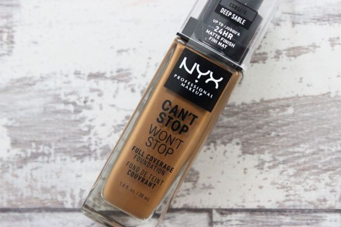 NYX Can't Stop Won't Stop Foundation Shopee