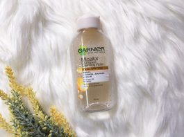 Garnier Micellar Water Oil Infused