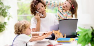 Tips work from home bersama anak