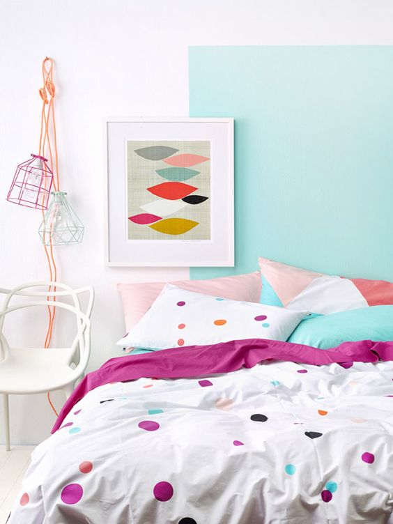 Colorful Bedroom Style