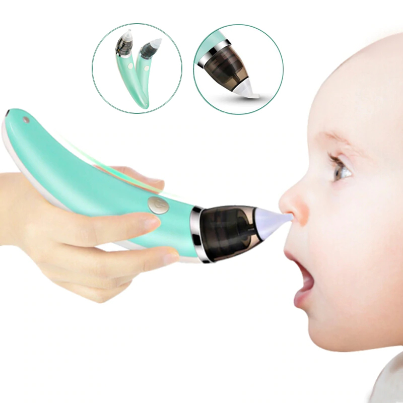 Manual Silicone Nasal Aspirator Nasal Suction Pump Snot Cleansing Baby Nose 2020