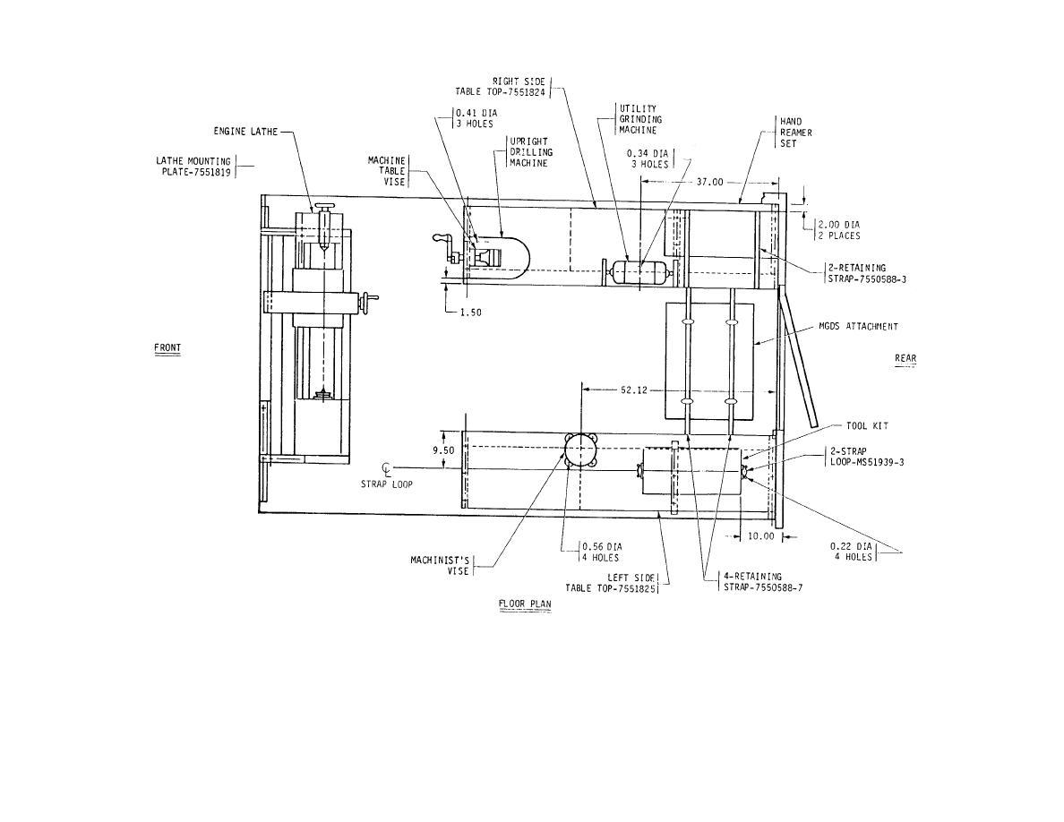 Floor Plan For Machine