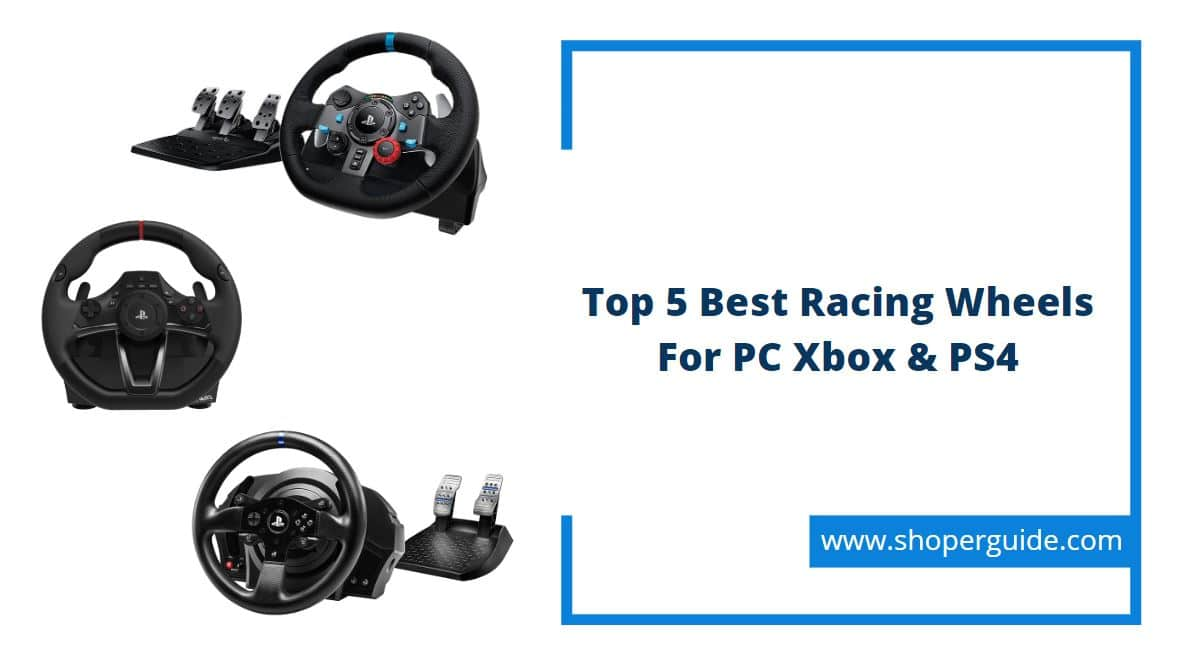 best steering racing wheels for pc xbox ps4