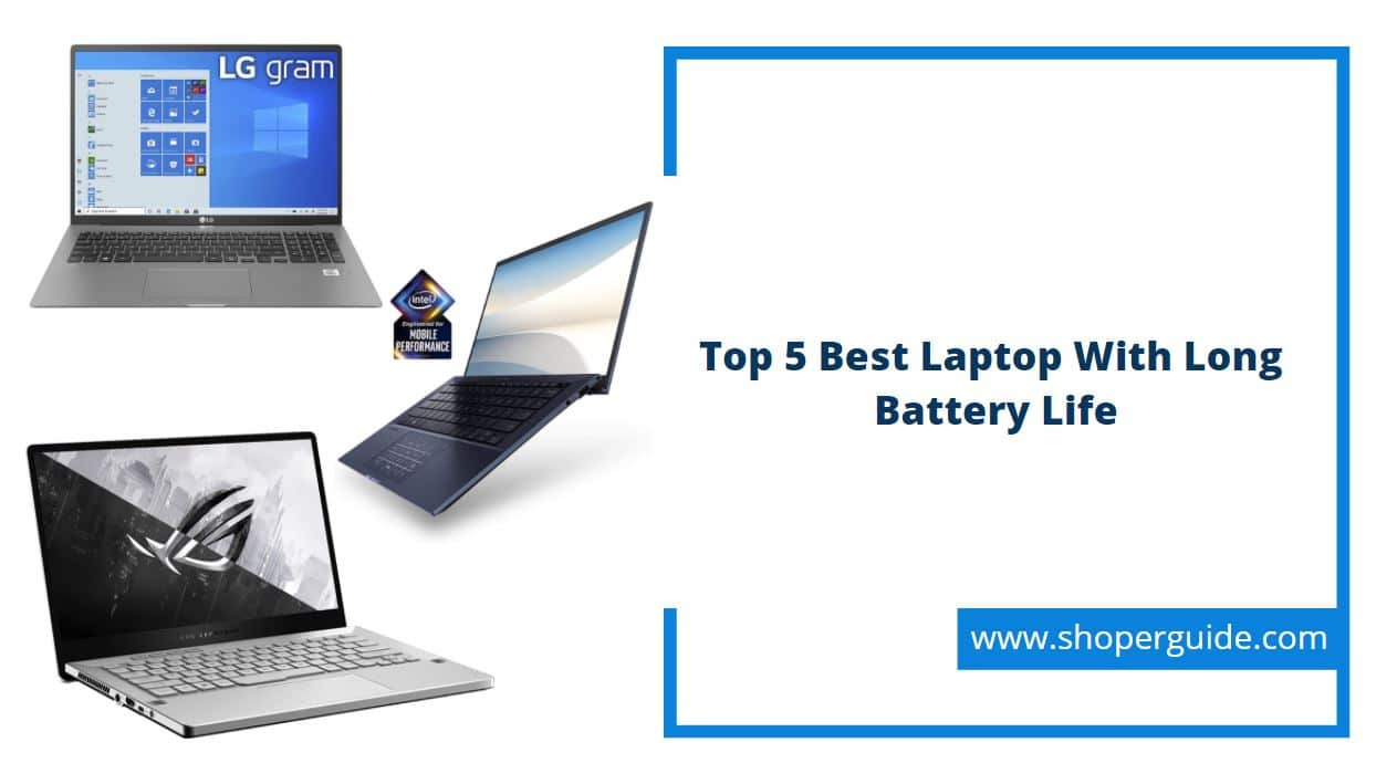 best laptop with long battery life