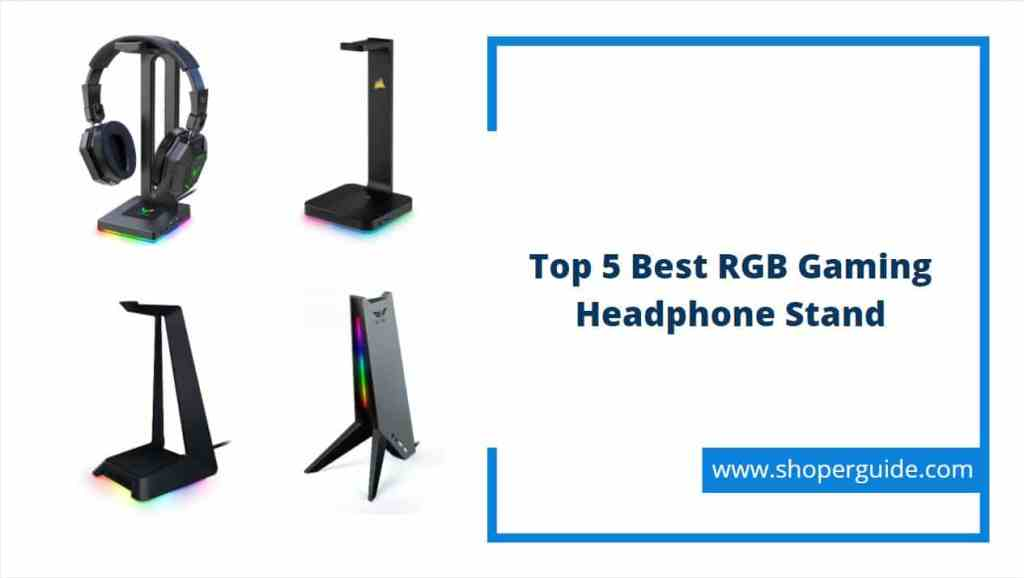 best rgb gaming headphone stands
