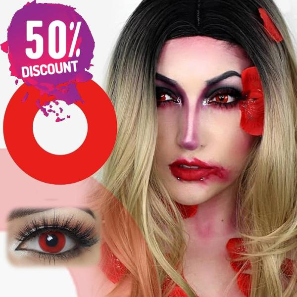 Halloween Cosplay Colored Eye Contact Lenses for Anime Eyes Eye Contact Lenses FREE SHIPPING 5